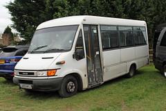 Ahmed, Rotherham LK03 HYJ, Iveco Daily at Cheltenham racecourse (majorcatransport) Tags: yorkshirebuses ahmedrotherham iveco ivecodaily frankguy cheltenham