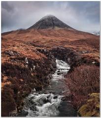 Coire na Banachdich (Hugh Stanton) Tags: stream mountain skye heather appicoftheweek