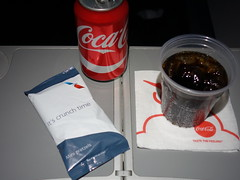 201703014 AA4651 PIT-LGA refreshment (taigatrommelchen) Tags: 20170310 flyingmeals airplane inflight meal food drink refreshment economy aal rpa americanairlines republicairways aa4651 e175 n425xy pitlga
