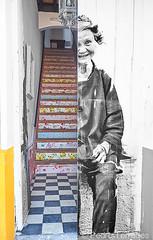Portal (pericoterrades) Tags: ayamonte huelva grafiti