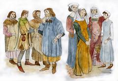 Costume study Edward II 1307-1327