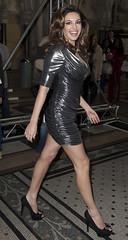 121006KG4 (antoniusbudyono10) Tags: london uk usa fulllength event fashion catwalk thelookfashionshow2012 blackdress sequineddress