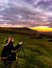 Brecon Sunset (AtlantisAlex) Tags: sheep green grass summer goldenhour peaks views walking hiking dslr sony portrait girl girlfriend sunrise d3200 nikon sun spring cold landscape wales hills snowdonia brecon mountains sunset
