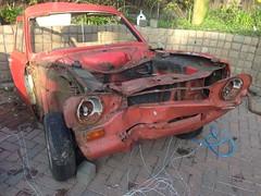 ESCORT Mk1. (EBAY WRECKS.) Tags: ebaywrecks escort ford wreck scrap rust