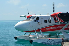 TMA Twin Otter Seaplane (Simon_sees) Tags: 5star fivestar firstclass luxurious luxurylife transmaldivian tma allfreepicturesmarch2018challenge airplane aircraft pilot flight fly propeller plane twinotter seaplane maldives luxury lixurylife holiday vacay vacation travel island tropical