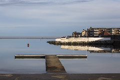 West Kirby Marine Lake (David Chennell - DavidC.Photography) Tags: wirral merseyside reflection jetty westkirby