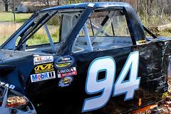 NASCAR Stickers and Scars (Piedmont Fossil) Tags: northcarolina nascar race car body wendellchavous 94