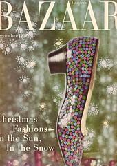 Harper's Bazaar 1957 (barbiescanner) Tags: vintage retro fashion vintagefashion harpersbazaar 50s 50sfashion delman shoes vintageshoes