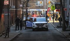 IMG_1259 (kz1000ps) Tags: newyorkcity nyc manhattan architecture urbanism cityscape greenwichvillage westvillage minettalane police cops nypd fordexplorer