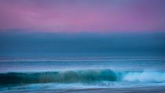 Sunrise at The Wedge, Newport Beach, California (James Duckworth) Tags: ocean abstract water sunrise wave longexposure beach