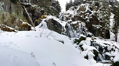 PANO_20170422_152151 (Garryman) Tags: beauty nature blurred motion day flowing water forest long exposure no people outdoors river rock object scenics stream tree waterfall architecture building exterior built structure cold temperature frozen house mountain sky snow snowdrift tranquility weather white color winter animal themes animals wild closeup fly agaric fragility fungus moss mushroom one slug toadstool