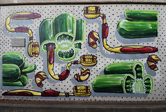 HNRX (HBA_JIJO) Tags: streetart urban vitry vitrysurseine art france artist hbajijo wall mur painting peinture murale paris94 spray mural urbain hnrx grafiti