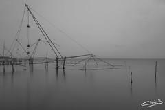 The Chinese Fishing Nets (chris.bon) Tags: kerala vembanad india cochin alleppey lake