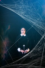 wizard world comic con. august 2016 (timp37) Tags: august 2016 chicago illinois wizard world comic con nat nathalie wednesday addams rosemont family