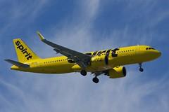 New Spirit (nxgphotos) Tags: bostonloganairport airbusa320neo spiritairlines n901nk castleisland 04r
