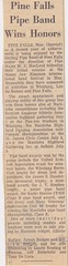 Stirling Pipe Band Pine Falls Newspaper Articles-8 (Hugh Peden) Tags: stirling pipe band pine falls manitoba major william bill macleod