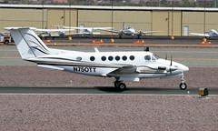 Beech 200 King Air N750TT (ChrisK48) Tags: aircraft beechcraft 1976 dvt kingair phoenixaz kdvt beech200 phoenixdeervalleyairport n750tt