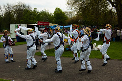 Morris Dancers and their audience (Dave_A_2007) Tags: wolverhampton england