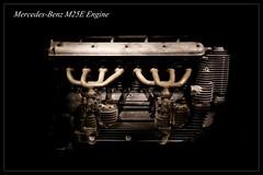Mercedes-Benz M25E Engine (Matthias Harbers) Tags: auto car museum speed photoshop germany deutschland automobile power stuttgart sony text engine cybershot racing mercedesbenz frame labs vehicle dxo motor hdr topaz badcannstatt badenwürttemberg 3xp photomatix mercedesbenzmuseum automobilemuseum rx100 akvis flickraward