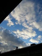 a slice of sky (ClareSnow) Tags: autumn roof sky cloud silhouette australia perth cloudporn skyporn