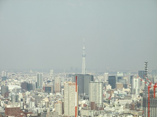 Skytree depuis To Cho, Tokyo, Japon