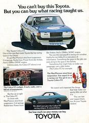 1973 Toyota Celica ST GT Advertisement Hot Rod September 1973