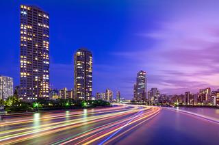 River of Lights, Sumidagawa Twilight
