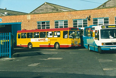 Arriva Midlands North 1009 (HXI3009) 15051999 (Rossendalian2013) Tags: bus alexander lynx leyland macclesfield stevensonsofuttoxeter arrivamidlandsnorth alexanderbelfast hxi3009 citybusbelfast arrivapassengerservices