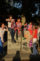 DSC_9252 copia (Cazador de imágenes) Tags: madrid plaza españa club de football spain neptuno spanien fútbol spagna spanje calcio spania atlético 2014 liga 西班牙 fusball spange campeón 2013 spaniya