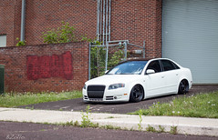 IMG_6121 (B.Zollo) Tags: white black work gold stretch fresh clean stretched a4 audi tucked classy slammed stance dumped baller bagged fitted airride fitment workwheels stanced stanceworks stancenation