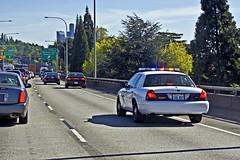 Washington State Patrol Ford Crown Victoria Police Interceptor (andrewkim101) Tags: seattle county bridge ford canal washington king ship state i5 police victoria wa crown patrol interceptor wsp