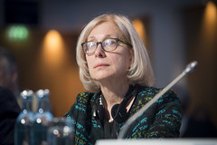 Susan Kurland at the Closed Ministerial Session