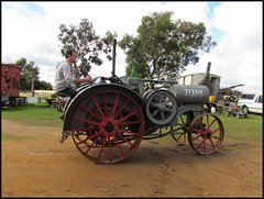 Titan (florahaggis) Tags: antique australia victoria tractors steamrollers steamrally farmmachinery steampowered steamshovel lakegoldsmith