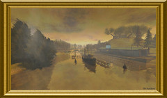Regardez le bouger ... (Tim Deschanel) Tags: life tree painting landscape boat tim paint peinture sl second bateau tableau paysage arbre fairyland deschanel réel