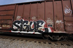 Sigue (Revise_D) Tags: graffiti graff freight revised sigue fr8 bsgk benching fr8heaven fr8aholics revisedesigns revisedesign benchingsteelgiants