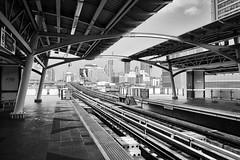 Skytrain Station Bangkok (Foto_Michel) Tags: street sky station train thailand bangkok candid himmel bahnhof struktur structure