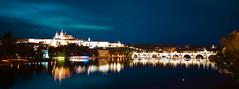Prague - Pont St Charles (L.M...) Tags: night prague praha nuit