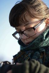 Johanna (Lisa Josefsson) Tags: trip november winter portrait cold concert friend photographer johanna malm 2012