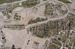 Above Hercules  Amman Citadel (Wind Watcher) Tags: kite yellow citadel amman jordan kap hercules dopero windwatcher