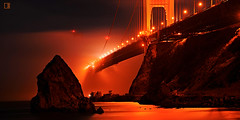 gate ignited (louie imaging) Tags: sf life camera bridge music inspiration cinema fog night landscape flow fire golden bay gate mood quiet play dynamic expression stage echo great smooth foggy calming jazz grand scene calm coastal harmony midnight passion horn moment fusion bound symphony span evolving vibe elegance inhale ambiance deeply grandeur resonance ignited