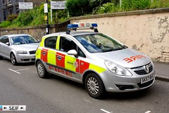 Vauxhall corsa Glasgow 2014 (seifracing) Tags: seifracing scotland spotting strathclyde scottish services scania ecosse emergency rescue recovery vehicles britain transport police polizei research 999 2014 glasgow accident incendie incident sk57rkv