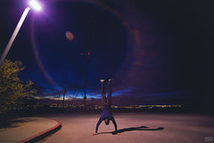 """PM Handstand (Jeremy Thomas Photography) Tags: city light 2 two portrait 3 color colors beautiful night digital canon wow pose lens eos prime lights evening crazy high amazing exposure pretty raw dof bokeh 5 quality gorgeous 4 wide sharp full explore telephoto frame definition stunning strong fixed hd strength handstand dope dslr ultra f28 ef carry hold def culvercity lightroom fov culver uwa 14mm angle"""" rokinon """"ultra 5dmarkiii baldwinhillsoutlook fijizzle"""