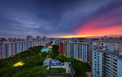 Tinged (AlawnK) Tags: singapore housing residential hdb governmenthousing bedok
