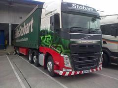 Eddie Stobart Ltd. KX14 LXD. H4103. Laura Elizabeth. (Drive-By Photography - (2M Views!!)) Tags: laura truck volvo elizabeth lorry eddie fh hgv stobart kx14lxd h4103