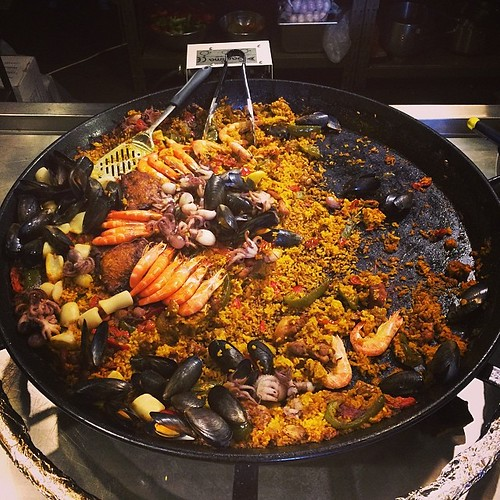 Seafood Paella. #delicious