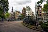 Bloemgracht (angheloflores) Tags: street bridge houses sky netherlands colors amsterdam clouds canal bloemgracht