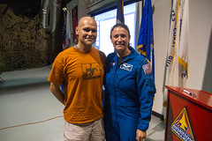 Me and Physician Astronaut Serena Auñón