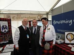 Tom C, Alex S and Alex C (cessna152towser) Tags: scotland kilt cunningham bannockburn firstminister alexsalmond salmond