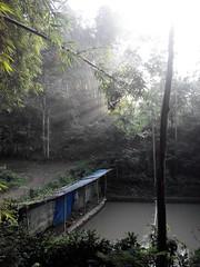 Fishermen's Meeting Point (Ikhlasul Amal) Tags: morning mist sunrise fishing pond recreation