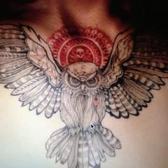 Nouvelle photo par  makeuplilichoi  (Migoii Art) Tags: paris de galerie salon collaborative atelier tatouage cration migoii